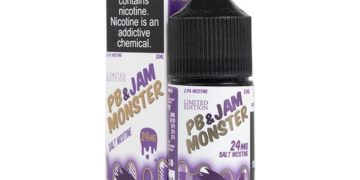 PB & J Nic Salt E-Juice by Jam Monster